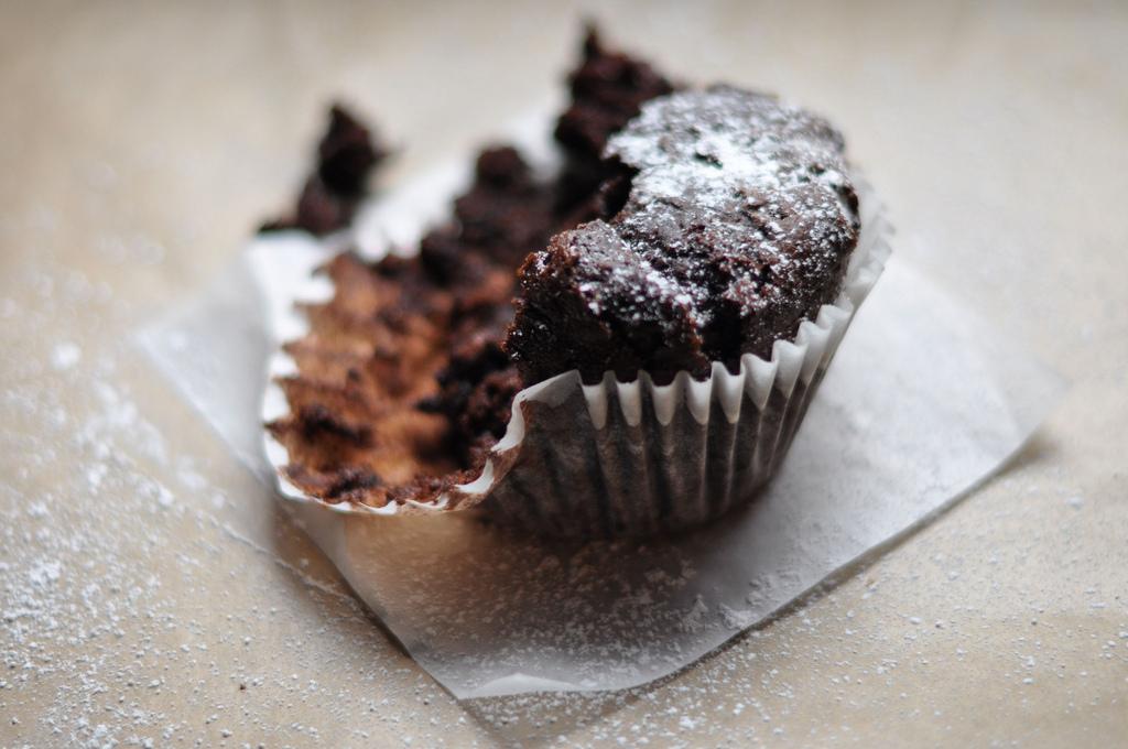 Шоколадные кексы без муки и сахара