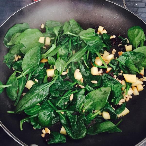 warm spinach salad2