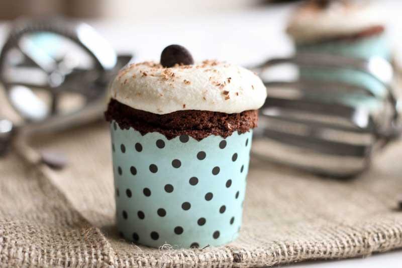LCHF-шоколадные капкейки
