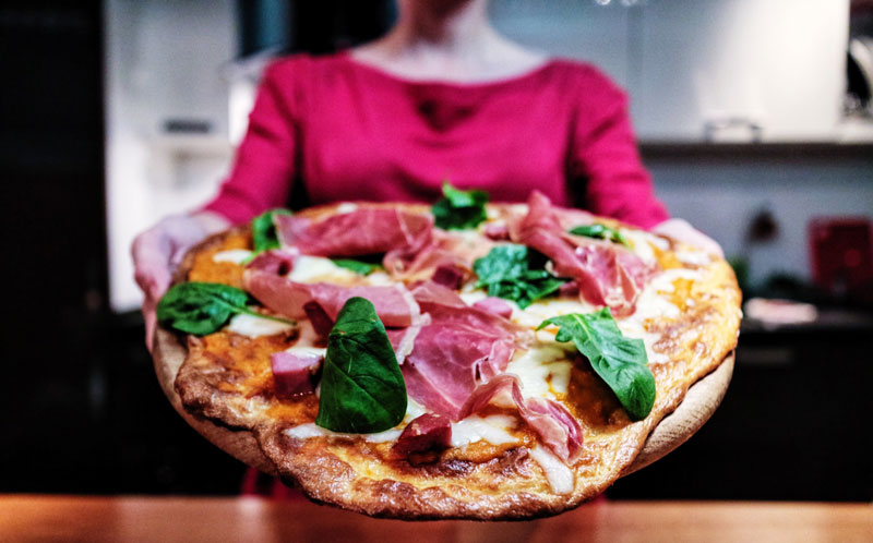 LCHF-пицца