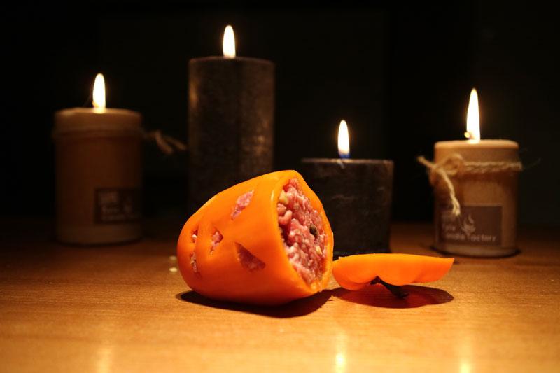LCHF-перцы к Хэллоуину