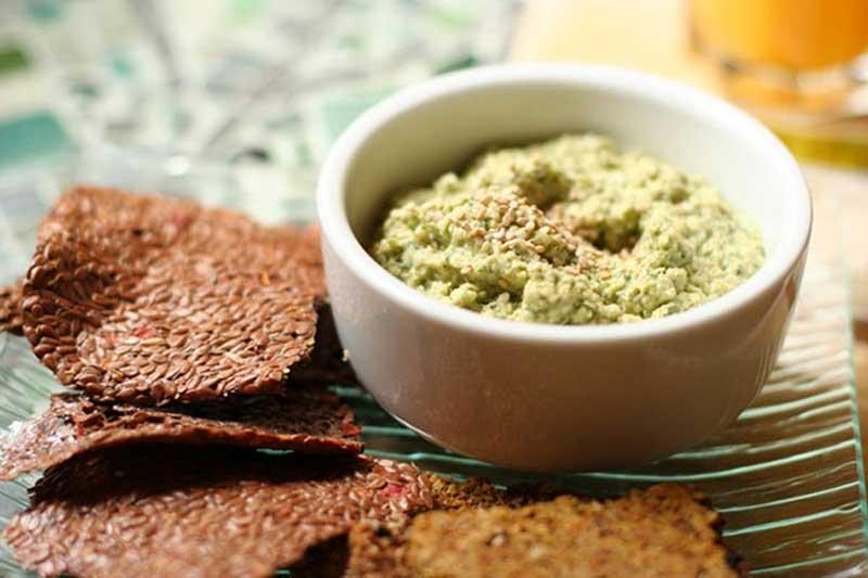 Цумус: хумус из цукини