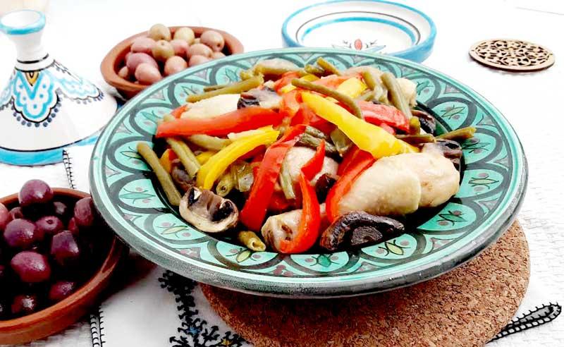 LCHF по-мароккански: тажин с курицей