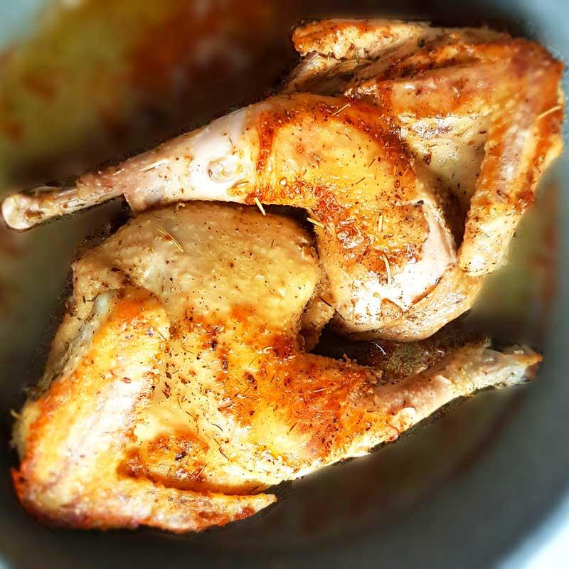 LCHF по-грузински: цыпленок табака