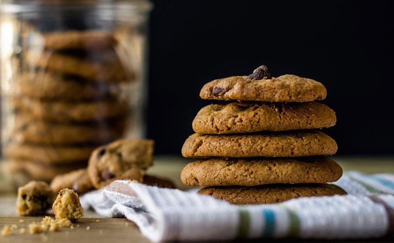 Простой рецепт орехового кето-печенья