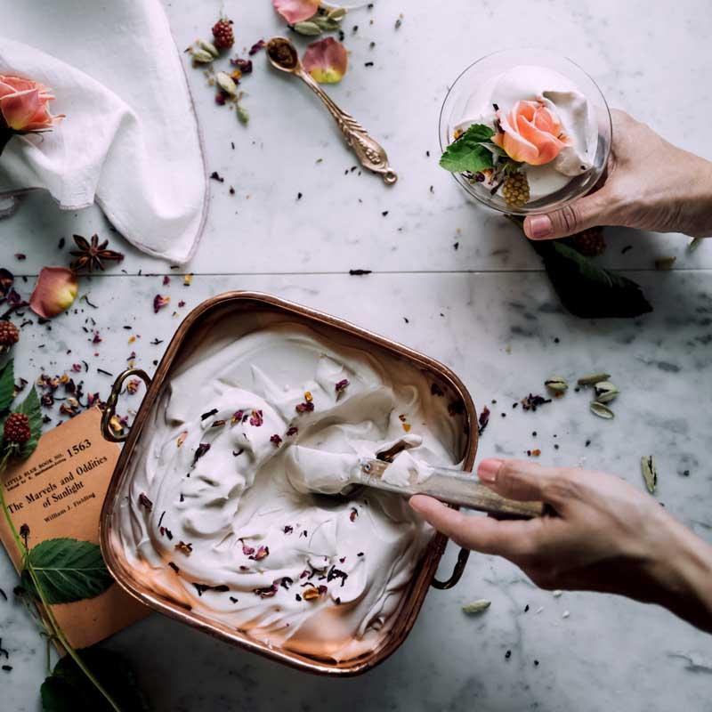 Очень простое кето-мороженое
