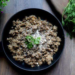 кето рис из цветной капусты