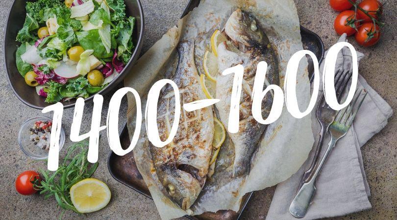 Кето меню на 1400-1600 калорий