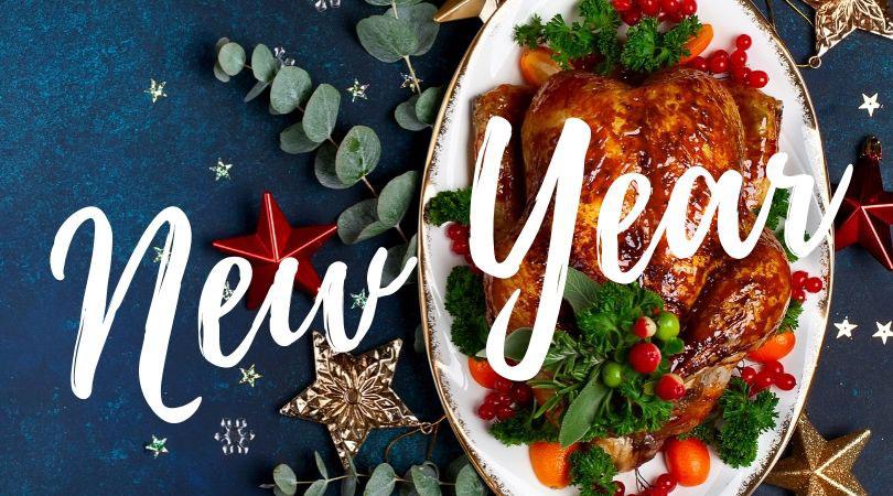 Новогоднее кето меню