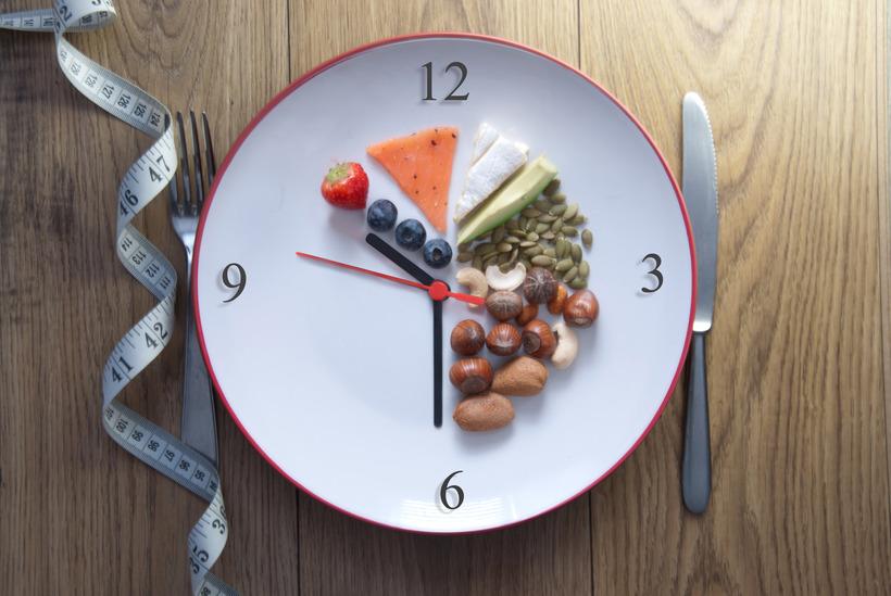 Интервальное голодание схема