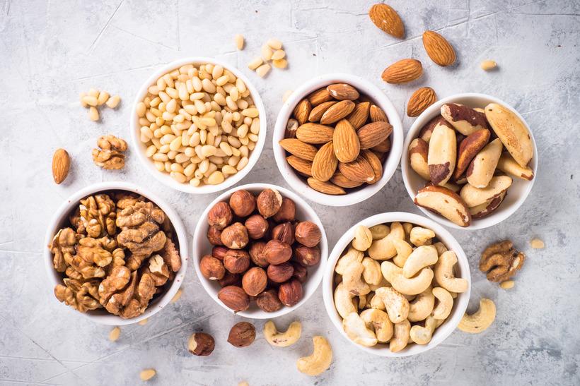 орехи на кето