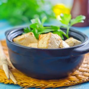 капуста с тофу