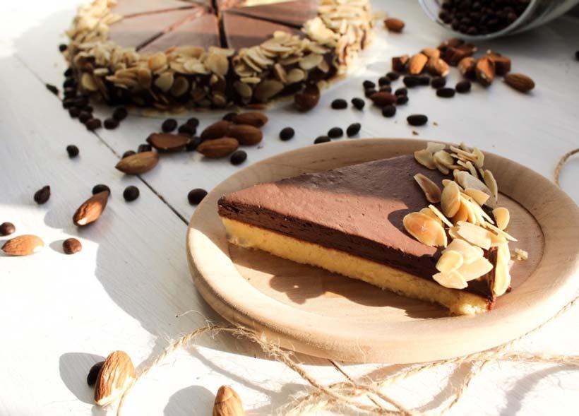 миндальный пирог от Keto Keto