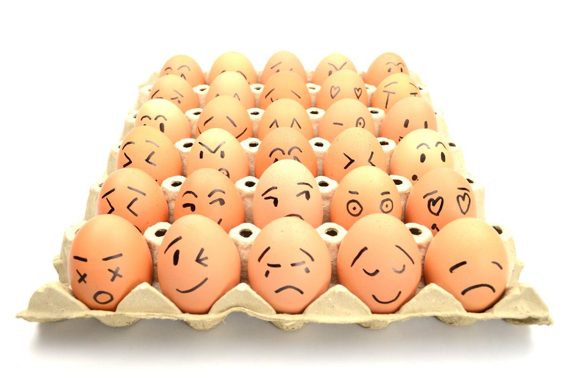 остались белки от яиц