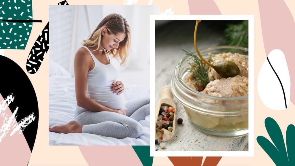 Печень трески в беременность