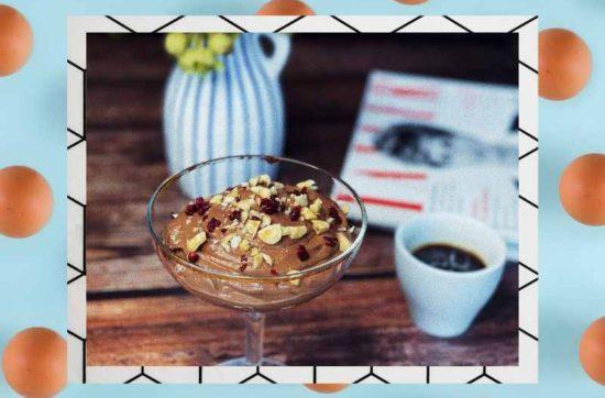 десерт мусс из вареных яиц 1